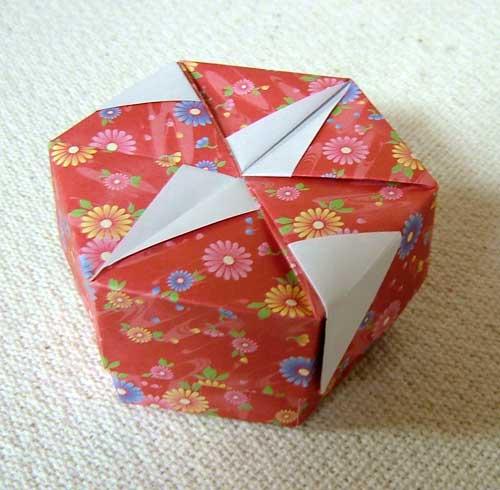 すべての折り紙 サンタクロース 折り紙 : 変り折り
