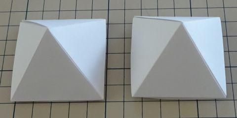 展開 四 図 角錐